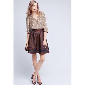 Anthropologie ERI + ALI high-waisted skirt NWT